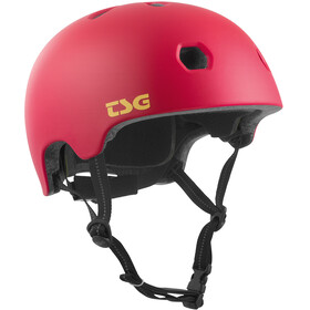 TSG Meta Solid Color - Casque de vélo - rouge